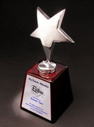 Starlet on Piano Wood Award